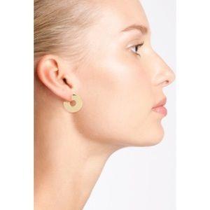 {MADEWELL} hoop earrings